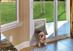 Pet Door - Sliding Glass Door Monte Verde In Glass Pet Door Are you tired of those pet door inserts? Your sliding door never seals correctly You have to slither out sideways to get out of the house Does not lock as the your door was intended Here is the…