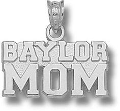 """Baylor University """"""""Baylor Mom"""""""" Pendant - Bears Jewelry"""