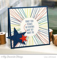Whimsical Wishes, Peek-a-Boo Circle Windows Die-namics, Pierced Star STAX Die-namics - Lisa Johnson #mftstamps