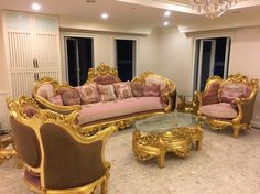 Love the pink, gorgeous Bedroom Furniture For Sale, Sunroom Furniture, Living Room Furniture, Home Furniture, Furniture Design, Furniture Online, Furniture Stores, French Furniture, Classic Furniture