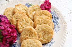 Toscakakor Biscuit Cookies, Cookie Desserts, No Bake Cake, Afternoon Tea, Italian Recipes, Baking Recipes, Bakery, Food And Drink, Sweets