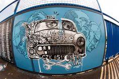 Street Art in Warsaw: by Maniac