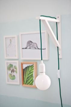 home, kedvencotthon, interiordesign, interiorstyling, kidsroom, turquoise, walldecor, pictures, tilka, the little prince, ombre wall, diy (photo: Milán Tóth) Decor, Ombre Wall, Lamp, Deco, Interior Styling, Home Decor, Room Inspiration, Inspiration, Interior Design