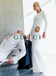 Gucci - Mario Testino - Georgina Grenville,Ludovico Benazzo - 1996FW - ad  campaign -  fashion ads