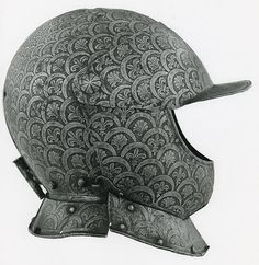 Northern Italian Closed Burgonet of the Guard of Pope Julius III (Possibly), 1585