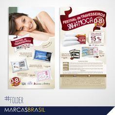 Folder – Sinhá Moça > Desenvolvimento de folder para as lojas Sinhá Moça < #folder #marcasbrasil #agenciamkt #publicidadeamericana
