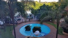 View from my window at Protea Hotel South Africa, next to the Criterion Mall.