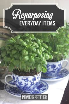Guide to repurposing everyday items