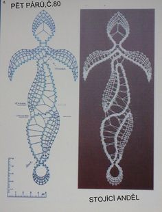 Lace Making, Bobbin Lace, Angel, How To Make, Crafts, Bobbin Lacemaking, Patterns, Pictures, Hardanger Embroidery