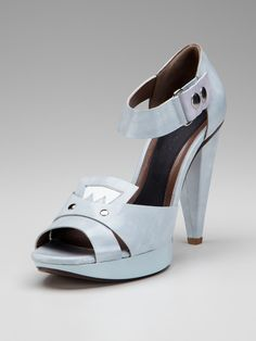 Drooling over the too-cool for school, Ankle Strap Platform Sandal by Marni on Gilt