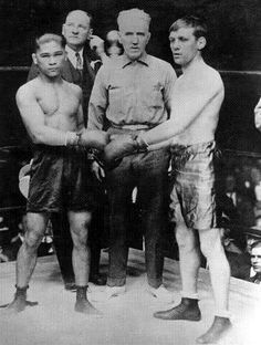 Historic fight: Jimmy Wilde-Pancho Villa