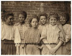 1909 Georgia Cotton Mill Girls Child Labor