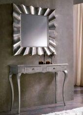 Miroirs modernes: modèle COPERNICO (carré et argent)