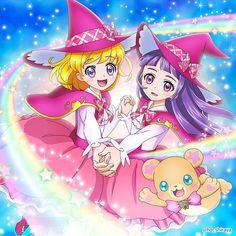 anime mahou tsukai precure | Pixiv Id 15733452, Mahou Tsukai Precure!, Riko (Pretty Cure), Mofurun ...