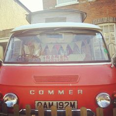 Florence. My lovely Commer camper.