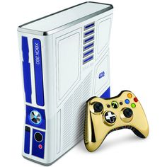 How cool is this?!? A Star Wars xbox 360!