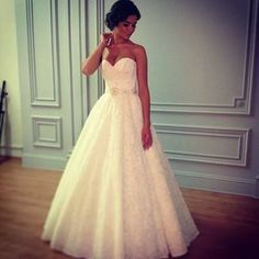 wedding dress the one<3 I. Am in love with this dress. Simple but yet original and super gorgeous.