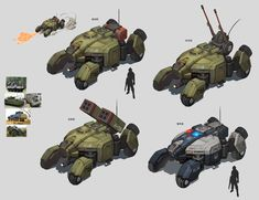 Armored car by franner wong on ArtStation. Armored Vehicles, Armored Car, Future Weapons, Spaceship Art, Futuristic Cars, Futuristic Vehicles, Sci Fi Ships, Military Pictures, Expedition Vehicle