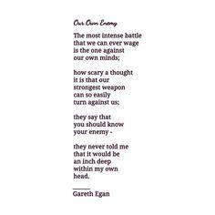 "Gareth Egan (@garetheganwords) on Instagram: ""@garetheganwords #garethegan --- 'The Chaos In Between' - A work of poetry by Gareth Egan World-…"""