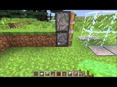 Minecraft - Redstone Constructions 1. - Sliding Door