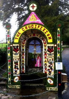 Tissington Well Dressings - a quirky Derbyshire tradition - well worth a visit!