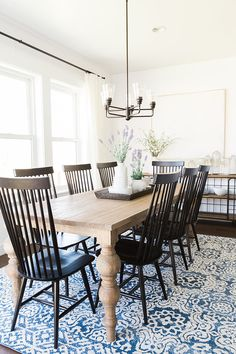 Farmhouse dining room | Akin Design Studio