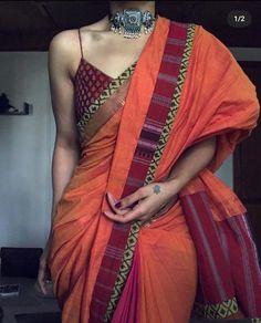 Indian Fashion Dresses, Dress Indian Style, Indian Designer Outfits, Trendy Sarees, Stylish Sarees, Indian Wedding Outfits, Indian Outfits, Saree Trends, Saree Models