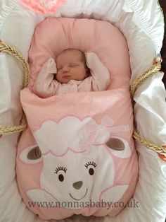 Baby Chloe is a little cutie in her Cotton Candy Nap Mat. Five days old Chloe looks so comfy and content, having a great sleep. Thank you to mummy Rebecca for sharing this photo with us. :-) • Find out more about Nap Mats: https://nonnasbaby.co.uk/baby-nap-mats/