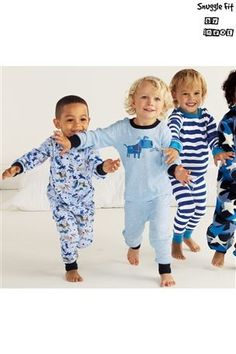 Buy Blue Dog Pyjamas Three Pack (9mths-6yrs) from the Next UK online shop