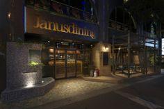 「Janus dining」 所在地:大阪市東心斎橋2-4-30 GRAND JANUS BLD 1階 オープン:2011年11月18日 設計:インフィクス 床面積:178㎡ 客席数:37席 photo:下村康典