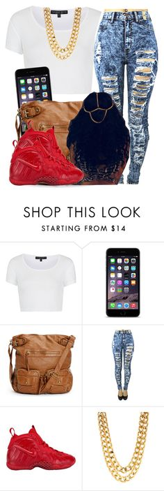 """""""When you realize xmas break is almost over with """" by trillest-queen ❤ liked on Polyvore featuring Topshop and NIKE"""