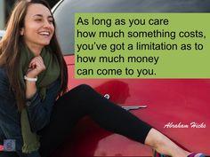 #AbrahamHicks #FinancialWellBeing #Come