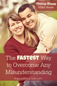 The Fastest Way to Overcome Any Misunderstanding Easy Tips) - Happy Wives Club Marriage Relationship, Marriage And Family, Happy Marriage, Marriage Advice, Relationships, Intimate Marriage, Christian Wife, Christian Marriage, Healthy Marriage
