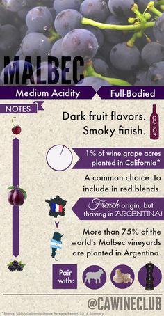 Pour a glass of #Malbec. #wine www.winewizard.co.za
