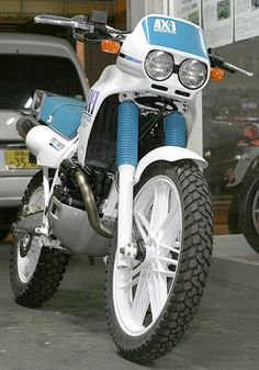 AX-1 Trail Motorcycle, Trial Bike, Retro Bike, Bmw Cafe Racer, Honda Cb750, Bike Stuff, Moma, Custom Bikes, Cross Country