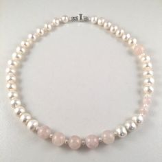 Beautiful Freshwater Pearl Necklace Exotic by JiaojiaosPearls