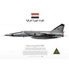 MiG-25RBT IrAF القوة الجوية العراقية TC-103 - Aviationgraphic