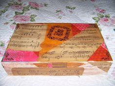 Photo 1 of Sold Enjoy It, Mixed Media, Artsy, Album, My Love, Storage, Box, Music, Crafts