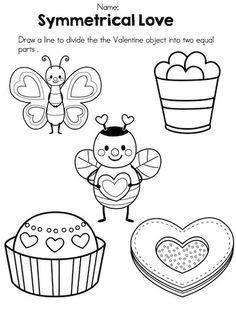 math worksheet : valentine s day kindergarten math worksheets  kindergarten math  : Free Valentine Math Worksheets