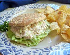 Chicken Salad Sandwiches Recipe from RecipeTips.com!