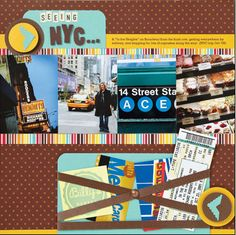 scrapbook page layouts Jennifer McGuire | ... Creative Ways to Use Your Scrapbook Supplies | Creating Keepsakes Blog