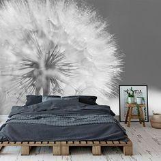 Fotobehang Dandelion in close up Bedroom Murals, Home Bedroom, Girls Bedroom, Master Bedroom, Bedroom Decor, Home Living Room, Interior Design Living Room, Living Room Decor, Chill Room