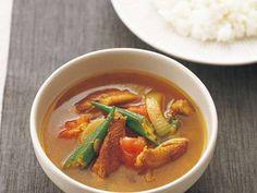 鶏手羽の簡単スープカレー