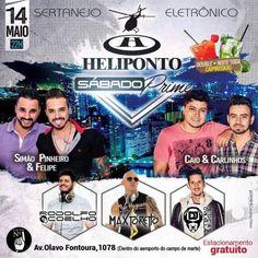 Heliponto Bar   Sertanejo e Eletrônico com Dj Rodolfo Coelho e Dj Max Toretto http://www.baladassp.com.br/balada-sp-evento/Heliponto-Bar/189
