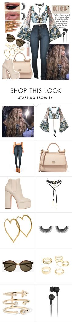 """""""modern hippie - first date look"""" by xkitten-pokerx ❤ liked on Polyvore featuring Roberto Cavalli, Dolce&Gabbana, Laurence Dacade, Floss Gloss, Chanel, Yves Saint Laurent, Charlotte Russe, Andrea Fohrman, Original Penguin and Kate Spade"""