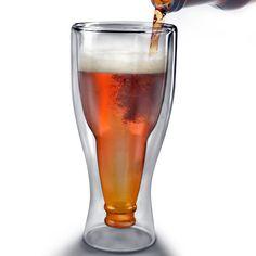 dat zijn pas glazen Fancy - Hopside Down Beer Glass