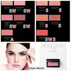 いいね!346件、コメント7件 ― 【Style Works】パーソナルカラー/メイク/骨格診断さん(@style_works_)のInstagramアカウント: 「大好評シリーズ✨コスメブランドのアイテム別PC診断 今回はリクエストも頂いた#アディクション #addiction の#ブラッシュ です (数が多いので投稿を分けてポストしています)…」 Rose Bar, Thing 1, Spring Colors, Veil, Cool Girl, Beauty Hacks, It Works, Blush, Eyeshadow