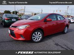 2015 New Toyota Corolla 4dr Sedan CVT LE at Toyota of Turnersville ...