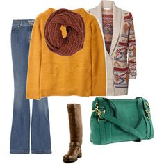Mustard Bohemian - i believe i have this outfit except for the purse