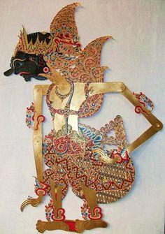 Duryudana the first born of the 100 Kurawa children, Karananyar Central Java, Wayang Kulit, Leather Graphic Design Brochure, Indonesian Art, Javanese, Shadow Play, Shadow Puppets, Work Inspiration, Traditional Art, Art Forms, Fabric Design